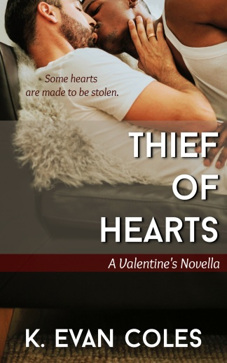 Thief of Hearts Book Cover Valentine's